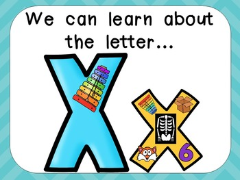 Alphabet Letter Xx PowerPoint Presentation- Letter ID, Sounds, and Handwriting