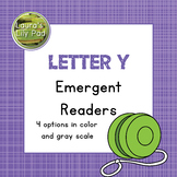 Alphabet Letter Y Emergent Readers Set