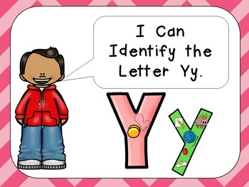 Alphabet Letter Yy PowerPoint Presentation- Letter ID, Sounds, and Handwriting