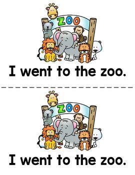 Alphabet Letter Z Emergent Readers