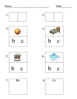 Alphabet: Letter and Sound Assessment for Kindergarten