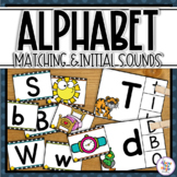 Alphabet Matching & Initial Sound Matching