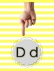 Alphabet Letter and Sound Posters with Motions
