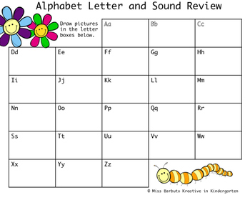 Alphabet Letter and Sound Review