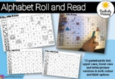 Alphabet Letter Sound Roll and Read - Letters, Pictures Color + B&W