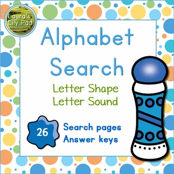 Alphabet Letter and Sound Search