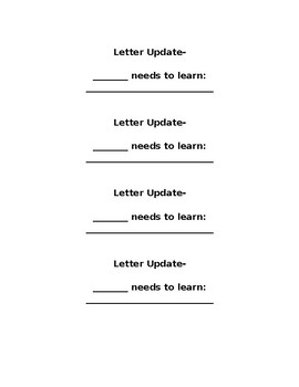 Alphabet Letter and Sound Testing/Assessment with English/Spanish Letter Updates