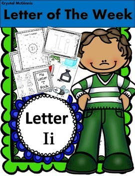 "Alphabet Letter ""i""! (12 Letter Recognition/Sound Activites) for the Letter i."