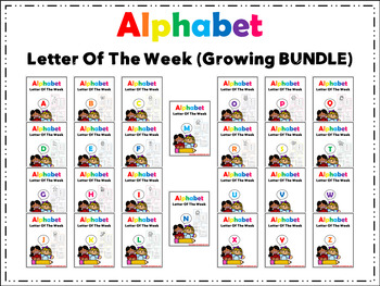 Alphabet Letter of The Week (THE BUNDLE)
