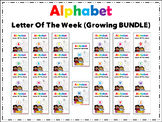 #50offdeal Alphabet Letter of The Week (THE BUNDLE) Packet