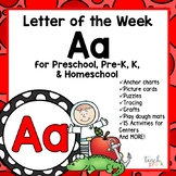 Alphabet Letter of the Week:  A