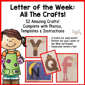 Alphabet Letter of the Week:  All the Crafts!