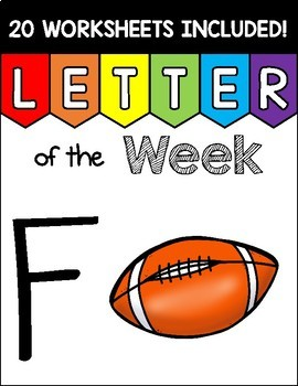 Alphabet Letter of the Week F