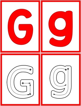 Alphabet Letter of the Week:  G