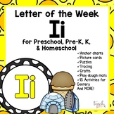 Alphabet Letter of the Week:  I