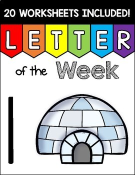 Alphabet Letter of the Week I