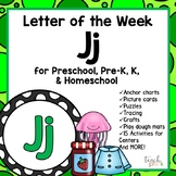 Alphabet Letter of the Week:  J