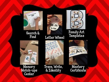 Alphabet Letter of the Week--Letter A Freebie; Adapted book & MORE