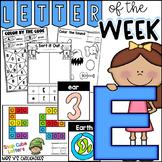 Alphabet Letter of the Week-Letter E