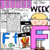 Alphabet Letter of the Week-Letter F