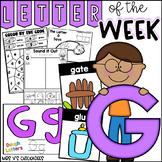 Alphabet Letter of the Week-Letter G