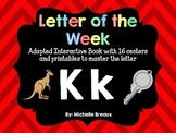 Alphabet Letter of the Week--Letter K Adapted book & More {Pre K, K, 1, Autism}