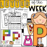 Alphabet Letter of the Week-Letter P