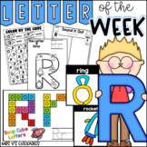 Alphabet Letter of the Week-Letter R