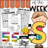 Alphabet Letter of the Week-Letter S