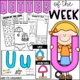 Alphabet Letter of the Week-Letter U