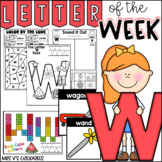 Alphabet Letter of the Week-Letter W