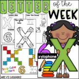 Alphabet Letter of the Week-Letter X
