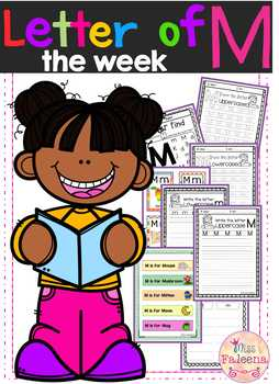 Alphabet Letter of the Week M
