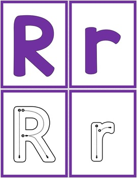 Alphabet Letter of the Week:  R
