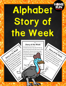 Alphabet A-Z Letter of the Week Animal Stories