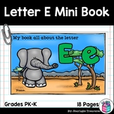 Alphabet Letter of the Week: The Letter E Mini Book