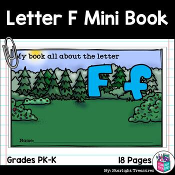 Alphabet Letter of the Week: The Letter F Mini Book