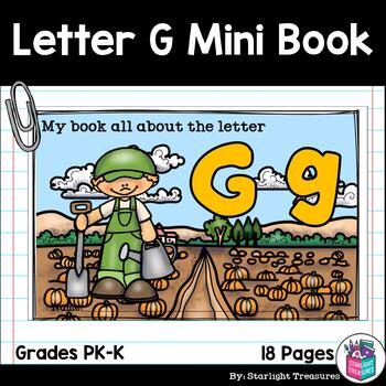Alphabet Letter of the Week: The Letter G Mini Book