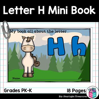 Alphabet Letter of the Week: The Letter H Mini Book