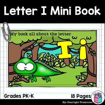 Alphabet Letter of the Week: The Letter I Mini Book
