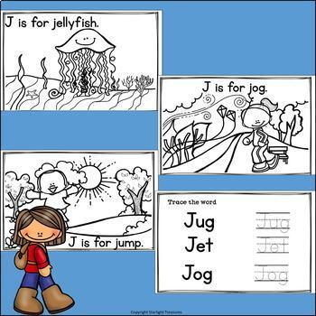 Alphabet Letter of the Week: The Letter J Mini Book