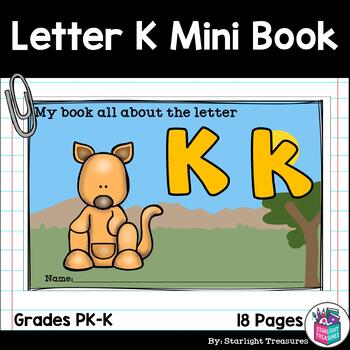 Alphabet Letter of the Week: The Letter K Mini Book