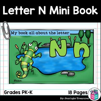 Alphabet Letter of the Week: The Letter N Mini Book