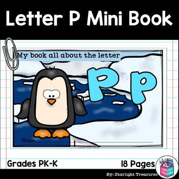 Alphabet Letter of the Week: The Letter P Mini Book