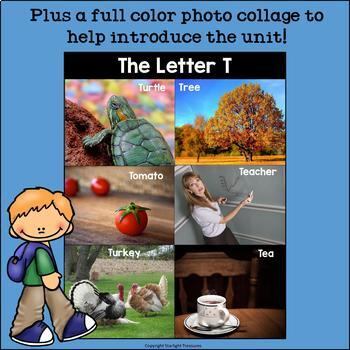 Alphabet Letter of the Week: The Letter T Mini Book