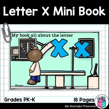 Alphabet Letter of the Week: The Letter X Mini Book
