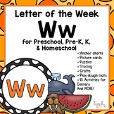 Alphabet Letter of the Week:  W