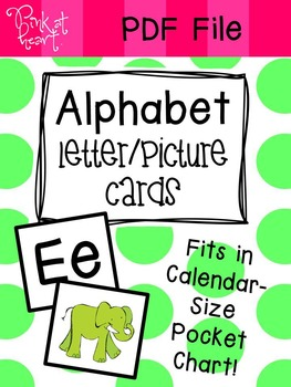 Alphabet Letter Picture Cards