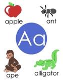 Alphabet Letter/Sound Pages
