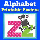 Alphabet Posters With Pictures | Kindergarten